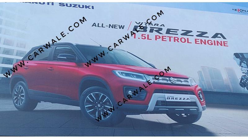 Maruti Suzuki reveals Vitara Brezza facelift in official image ahead of 2020 Auto Expo unveil