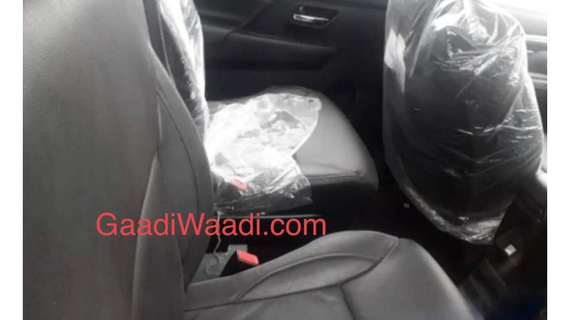 Interiors of Maruti Suzuki XL6 leaked