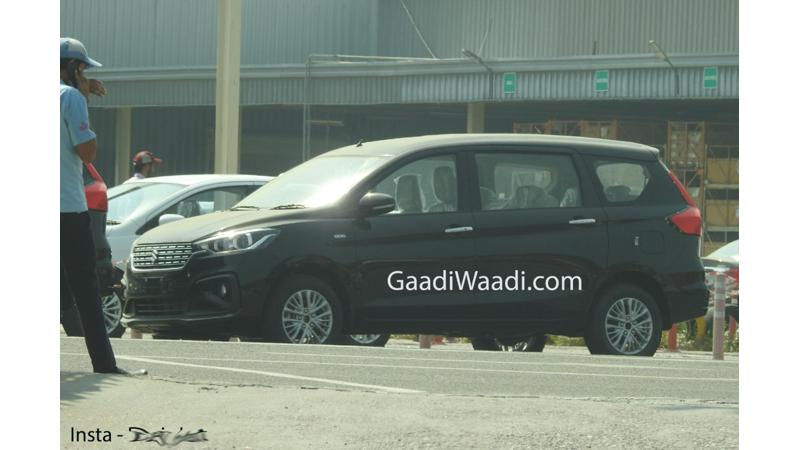 2018 next generation Maruti Suzuki Ertiga spied sans camouflage ahead of November 21 launch