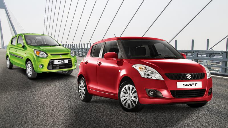 Maruti Suzuki Swift outsold the Alto in April 2017