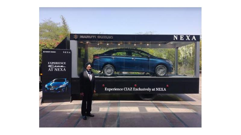 Maruti Ciaz to be sold through Nexa from April 1