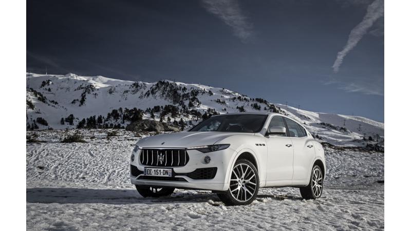 Maserati Levante introduced in India at Rs 1.45 crore