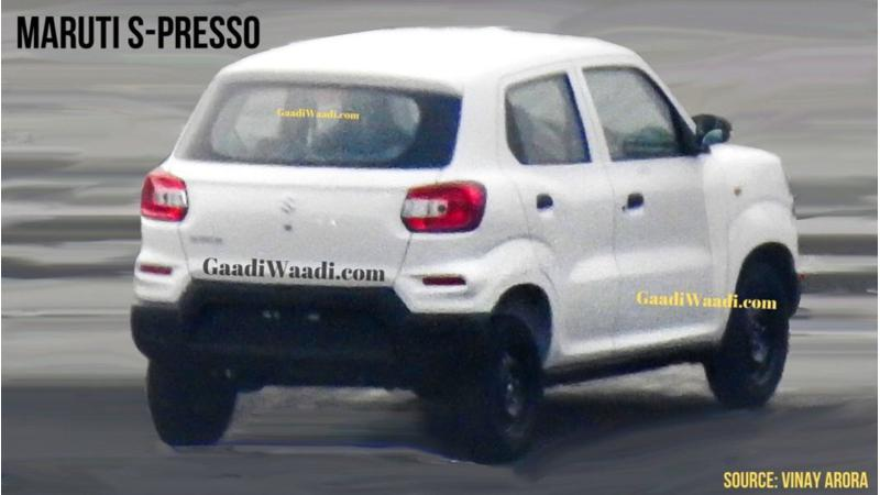 Maruti Suzuki S-Presso specifications revealed