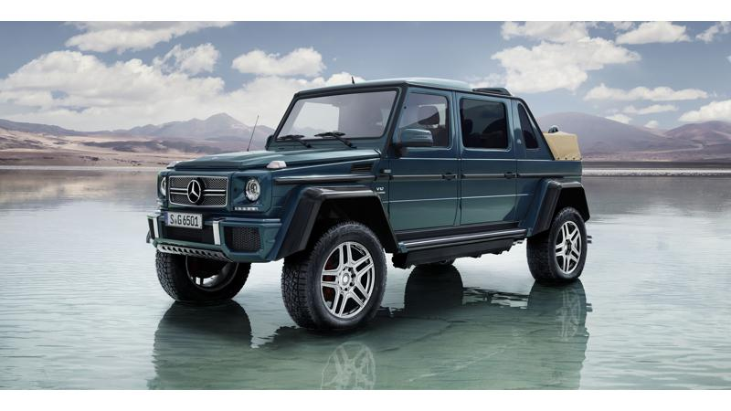 Mercedes-Maybach reveals the G650 Landaulet
