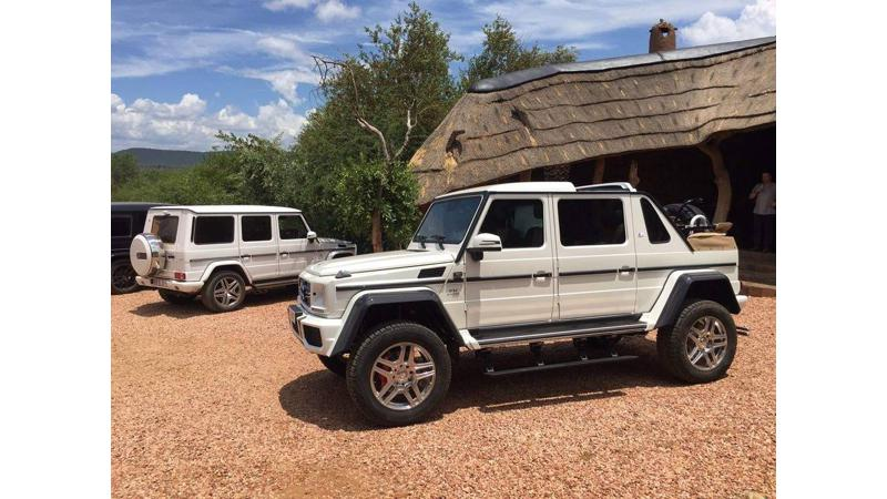 Mercedes-Maybach G650 Landaulet spotted