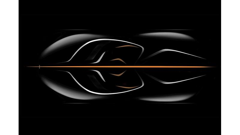McLaren to make new hyper car with three-seater layout