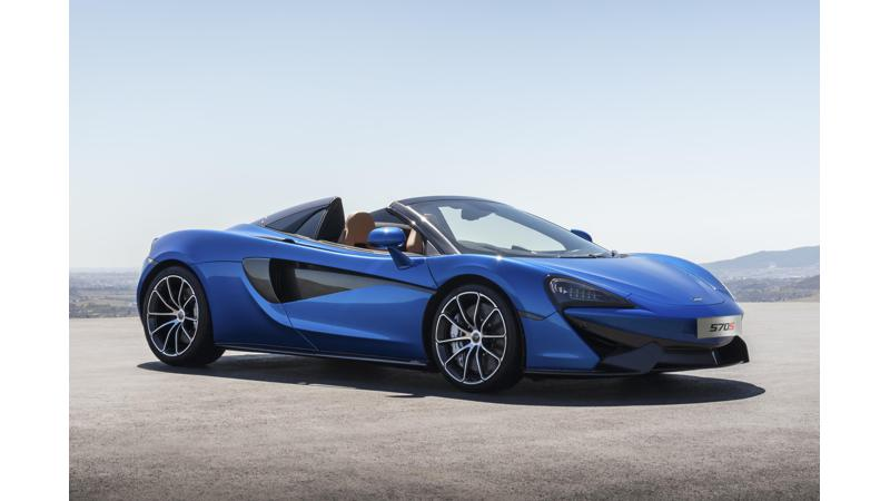 McLaren 570S Spider revealed ahead of global debut