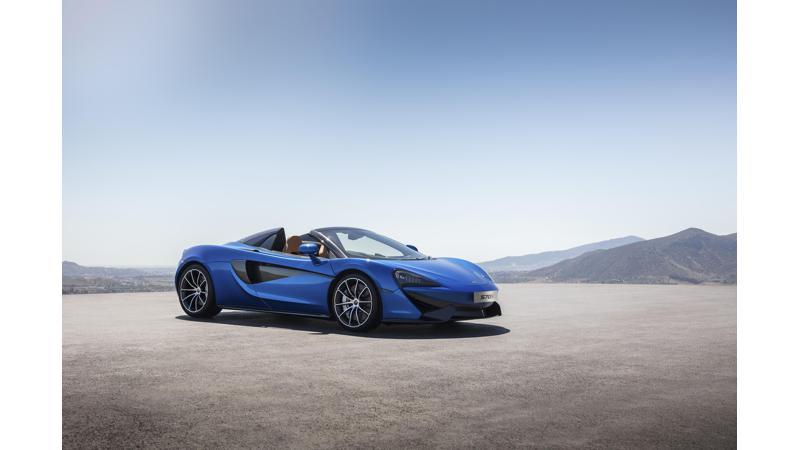 McLaren surpasses 15,000 units production milestone