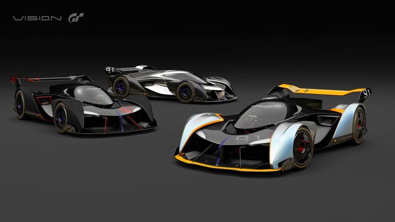 McLaren Vision Ultimate Vision Gran Turismo Sport unveiled