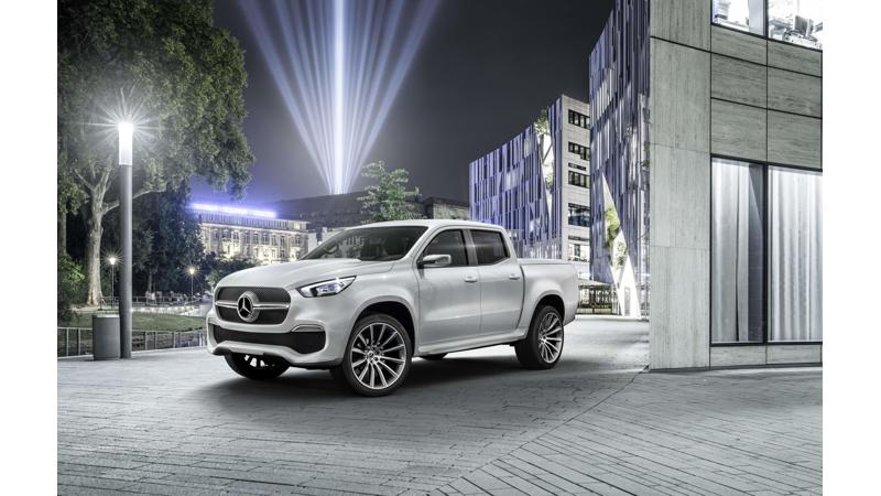 Mercedes X-Class pick-up unveiled ahead of global launch next year