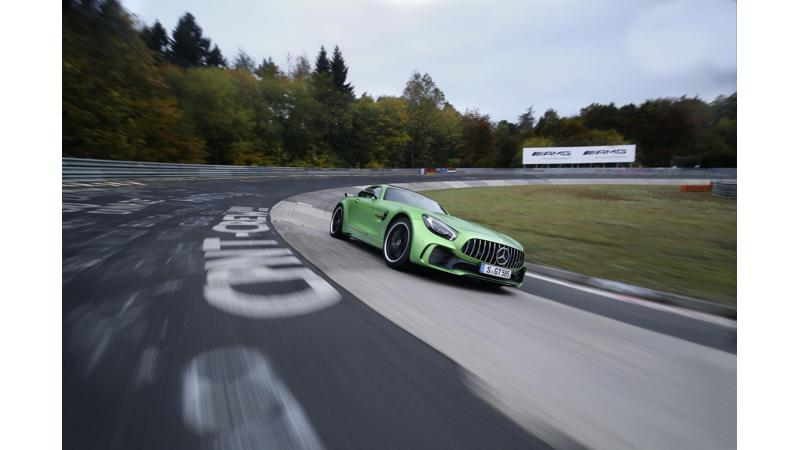 Mercedes-AMG GT R records the fastest rear-wheel-drive record at the Nurburgring