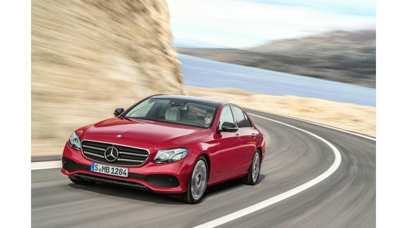 Euro NCAP awards 5-star rating to E-Class