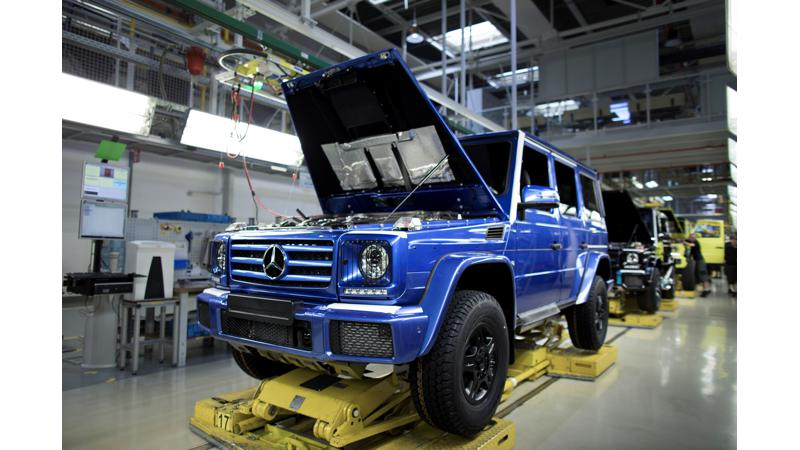 Mercedes-Benz achieves a production milestone of G-Class