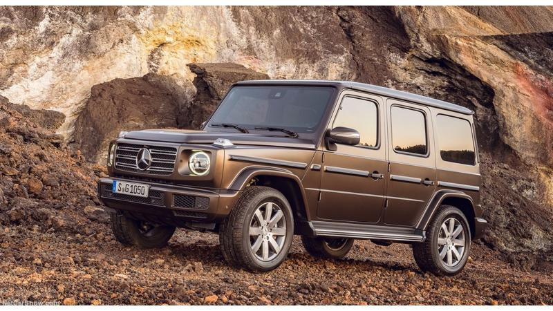 2019 Mercedes-Benz G-Class showcased in Detroit
