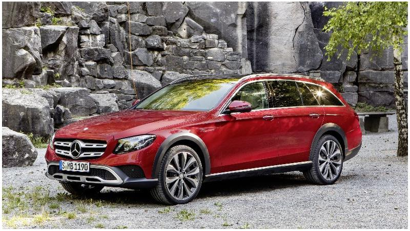 New E-Class All-Terrain to be unveiled at the Paris Motor Show