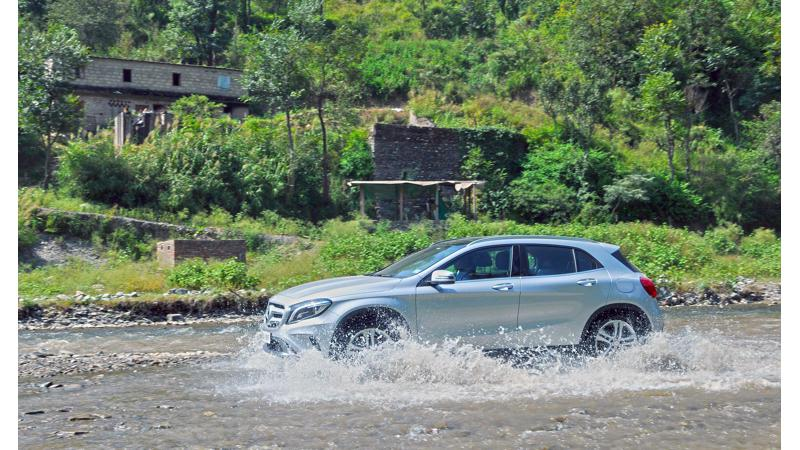 Mercedes-Benz GLA 220d 4MATIC to be launched soon