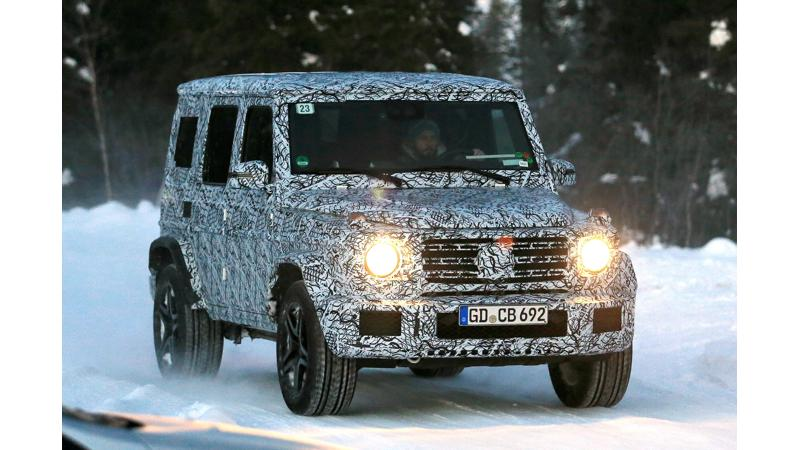 All-new Mercedes G-Class snapped