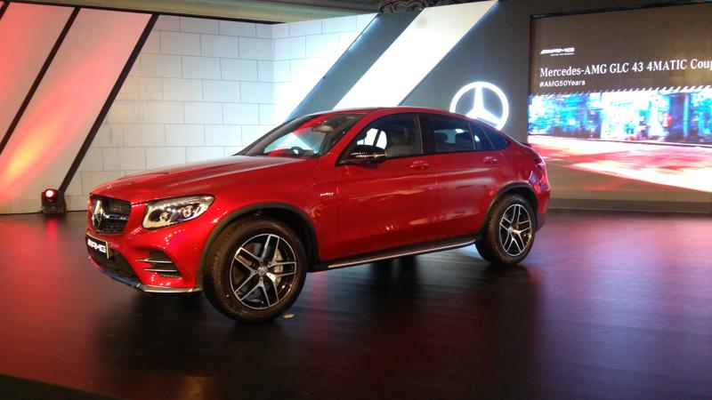 Mercedes-AMG GLC 4MATIC Coupe revealed in pictures