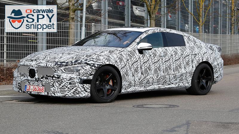 Mercedes-AMG GT sedan spotted testing already