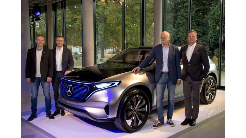 All electric Mercedes-Benz EQ on the roads by 2020