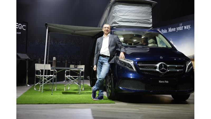 Mercedes-Benz V-Class Marco Polo launched in India at Auto Expo 2020; prices start at Rs 1.38 crores