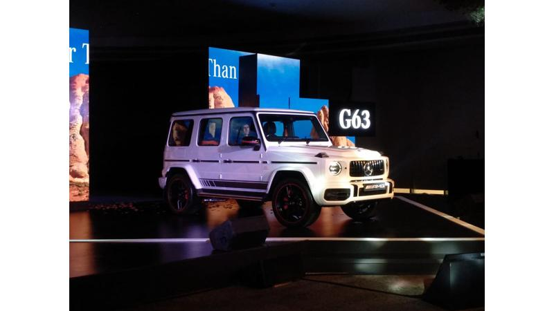 Mercedes-Benz launched the new G63 AMG in India at Rs 2.19 crores