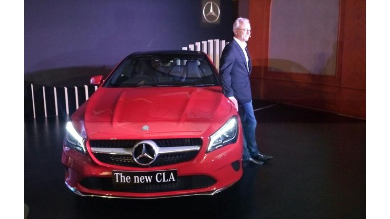 Mercedes-Benz launches CLA facelift for Rs 31.40 lakh in India