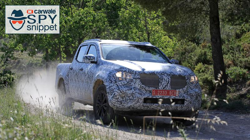 2018 Mercedes-Benz X-Class spotted testing