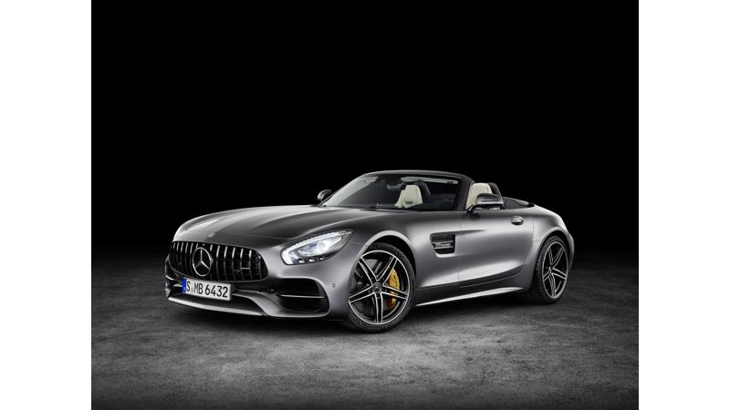 Mercedes-AMG shows off GT and GT C Roadster at 2016 Paris Motor Show