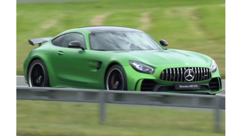 Mercedes-AMG GT-R premieres at the Goodwood Festival of Speed