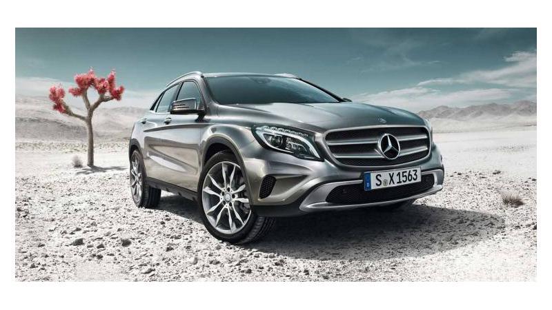 Mercedes Benz GLA Class launching tomorrow