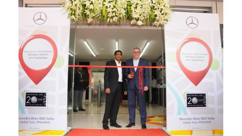 Mercedes-Benz inaugurates third research and development facility in India