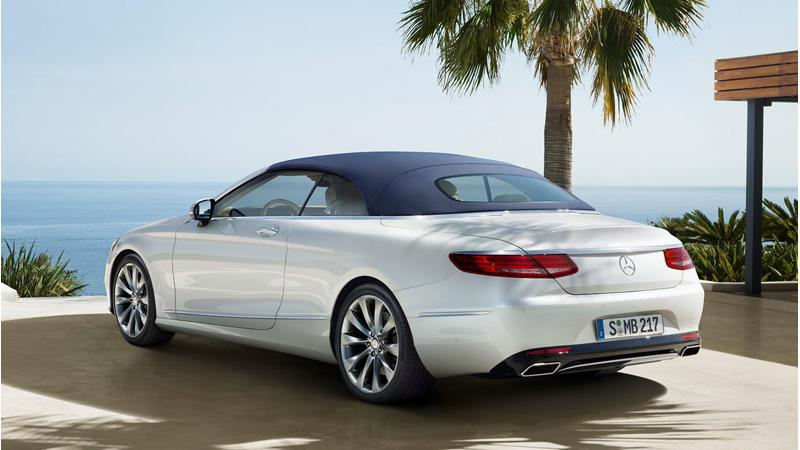 Mercedes-Benz introduces the SLC, SL and S-Class cabriolet in Thailand