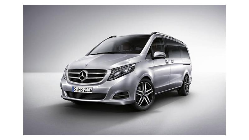 Mercedes-Benz to launch the V-Class on 24 January in India