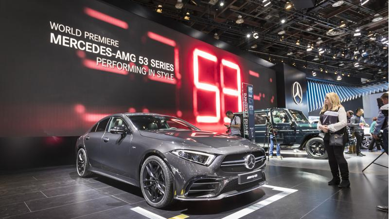 2018 Detroit Auto Show: Mercedes-AMG reveals three new models