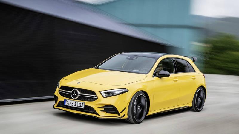 2018 Paris Motor Show - Mercedes-AMG A35 steals limelight