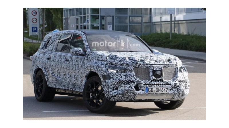 2019 Mercedes-Benz GLS spotted on test