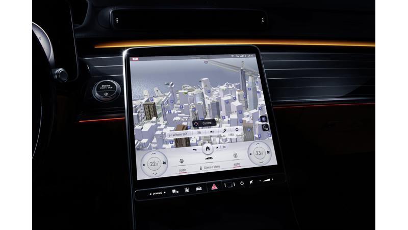 Mercedes-Benz unveils second-generation MBUX infotainment system