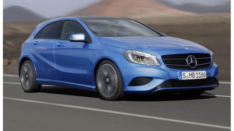 Mercedes-Benz A-Class set to take on BMW's Mini Cooper in India