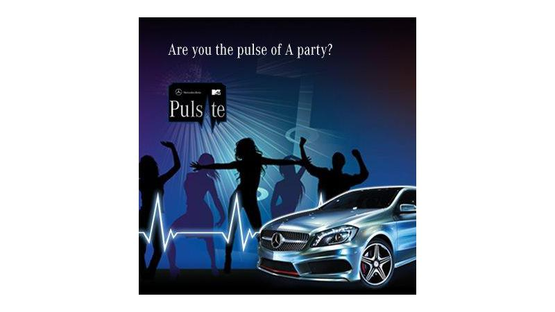 Mercedes-Benz ties up with MTV India for the new A-Class Pulsate campaign
