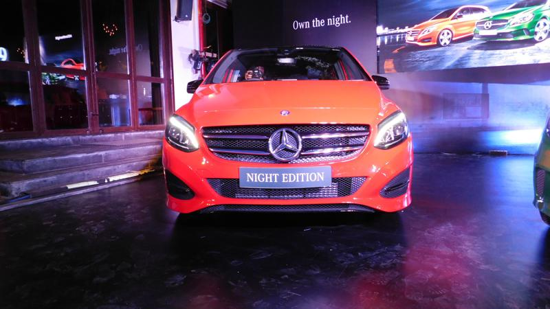 Mercedes-Benz A and B-Class Night Edition explained in pictures