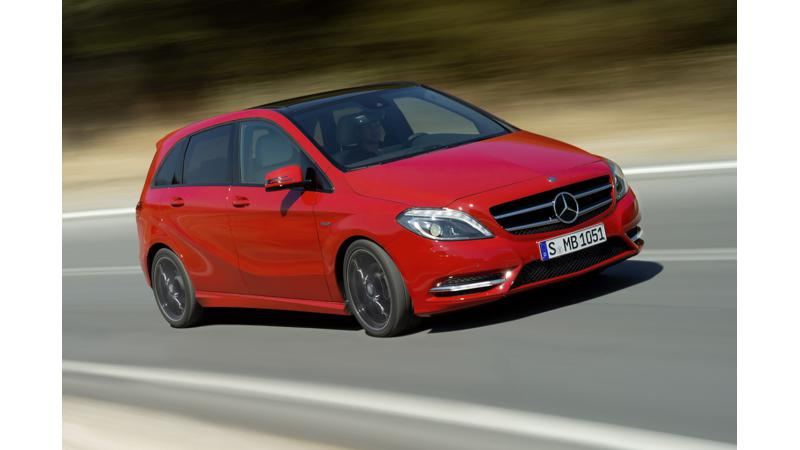 Mercedes-Benz B-Class Diesel to be launched today