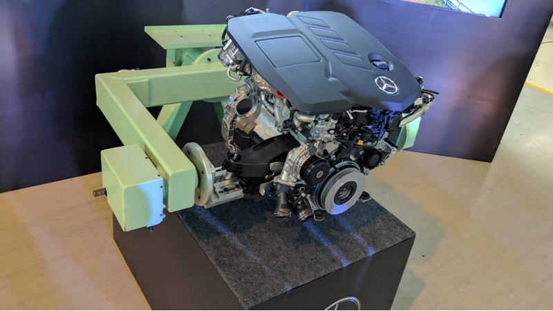 Highlights of Mercedes-Benz's new engine in the E 220 d