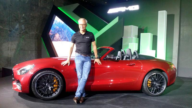 Mercedes launched AMG GT Roadster in India at Rs 2.19 crore