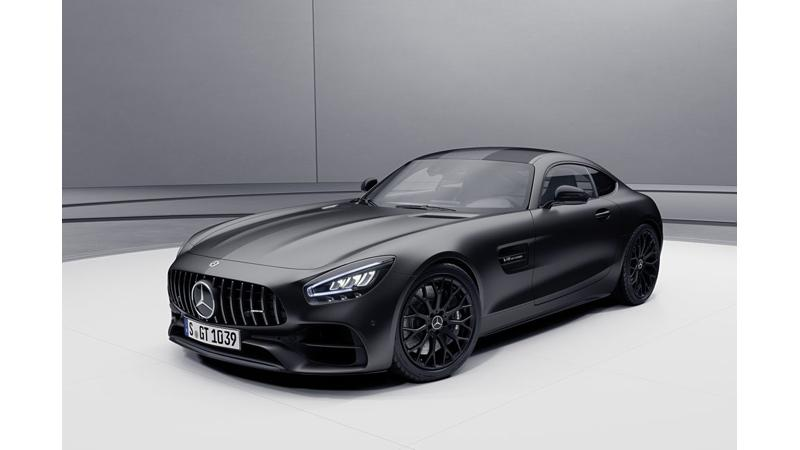 2021 Mercedes-AMG GT showcased in Stealth Edition