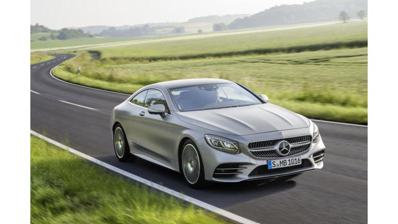 Mercedes-Benz revamps S-Class Coupe and Cabriolet