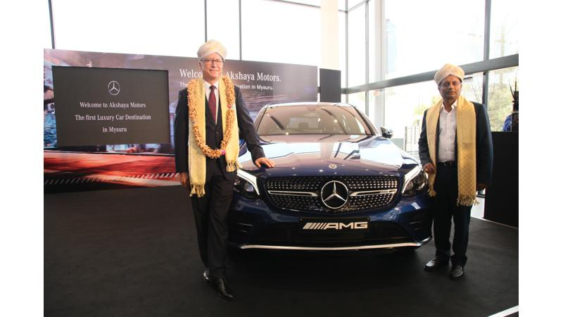 Mercedes-Benz opens its first 3S dealership in Mysore