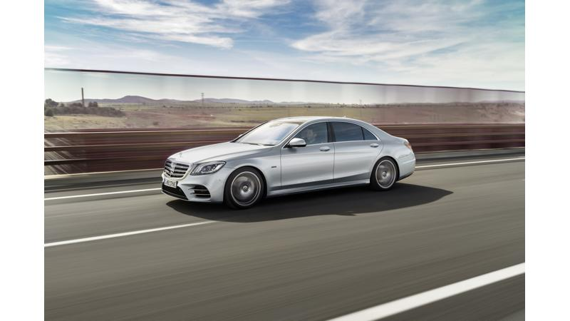 Mercedes-Benz S 560e revealed in pictures
