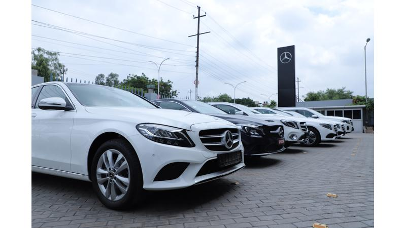 Mercedes-Benz delivers 550 cars during Navratri and Dassehra period