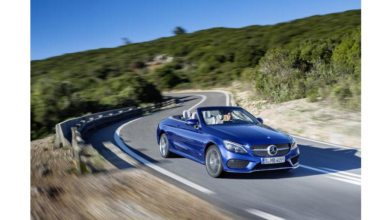Mercedes-Benz to launch S-Cabriolet and C-Cabriolet tomorrow